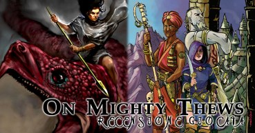 On Mighty Thews Recensione Copertina