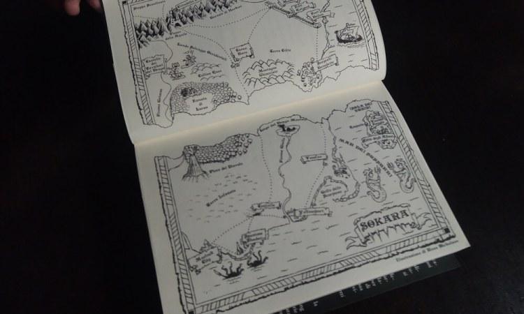 Il Regno Lacerato Mappa