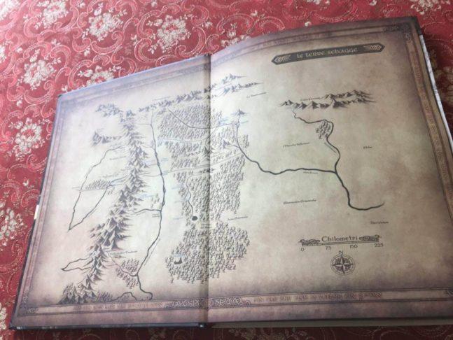 Avventure nella Terra di Mezzo Mappa del Viaggio