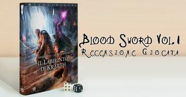 Blood Sword I Labirinti di Krarth Cover