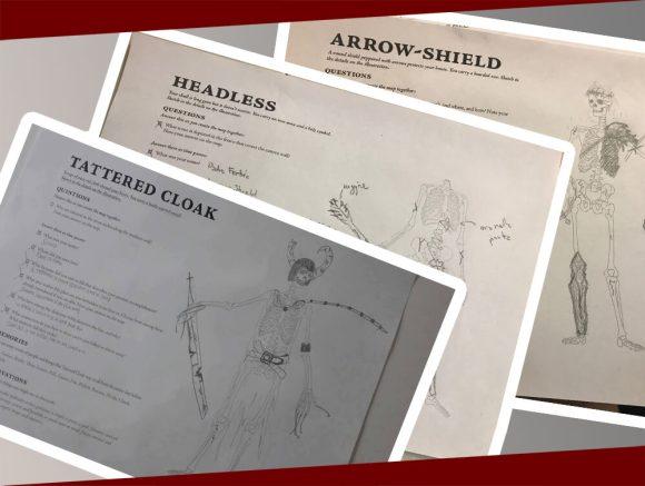 Le schede dei personaggi di The Skeletons