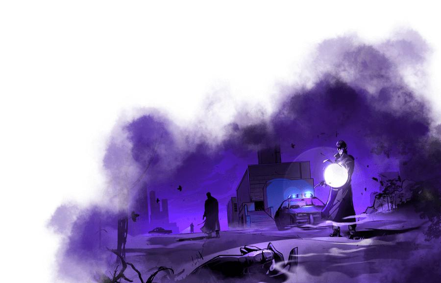 Il noir di City of Mist
