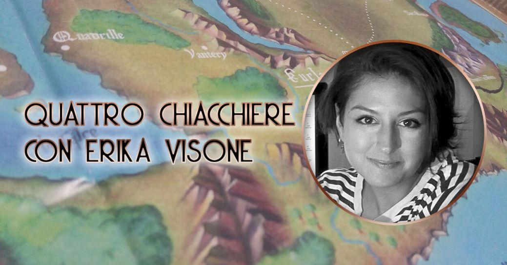Cover Intervista Erika Visone