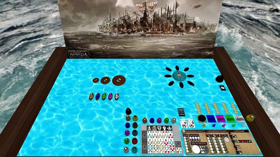 La Città delle Navi su Tabletop Simulator