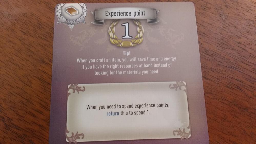 Carta punto esperienza 7th Continent