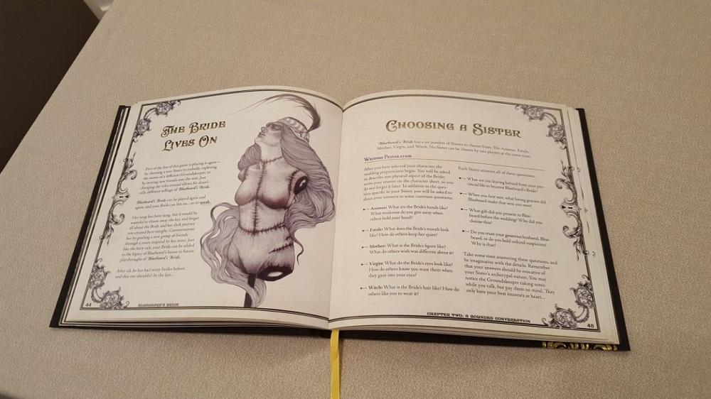 Manuale del Giocatore di Bluebeard's Bride