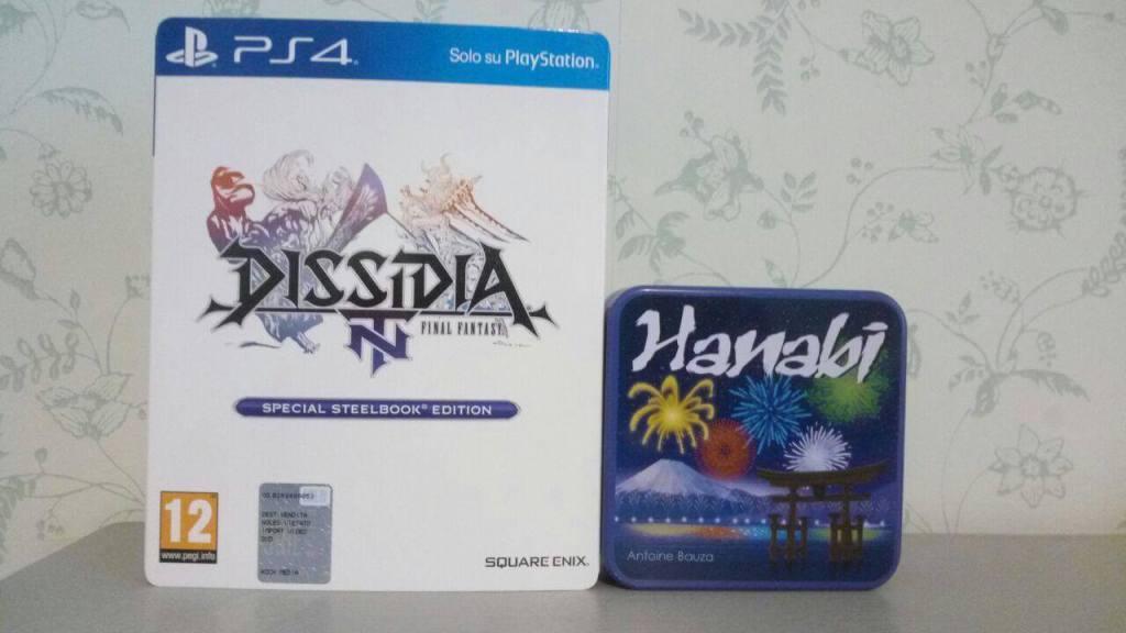 Dissidia e Hanabi sono due giochi con forte identità descrivibile per generi.