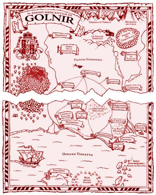 mappa di golnir