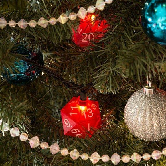 Natale d20 Gioco di Ruolo Albero