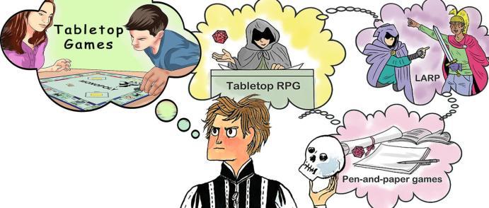 Children of a Lesser Table Storie di Ruolo Giochi di Ruolo Giochi da Tavolo