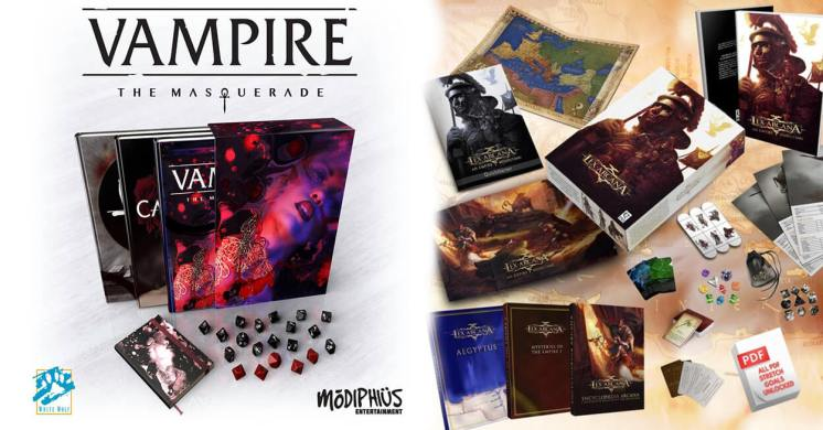 Nuovi Ritorni Giochi di Ruolo Storie di Ruolo Lex Arcana Vampire The Masquerade