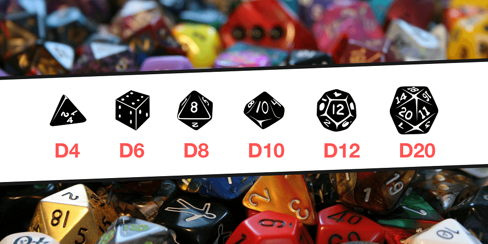 dadi per dungeons&dragons
