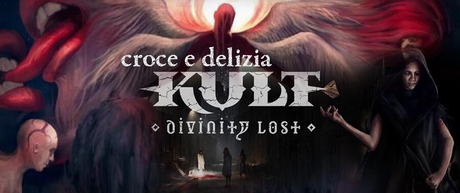 Kult Divinity Lost Cover Recensione Croce Delizia Storie di Ruolo Helmgast