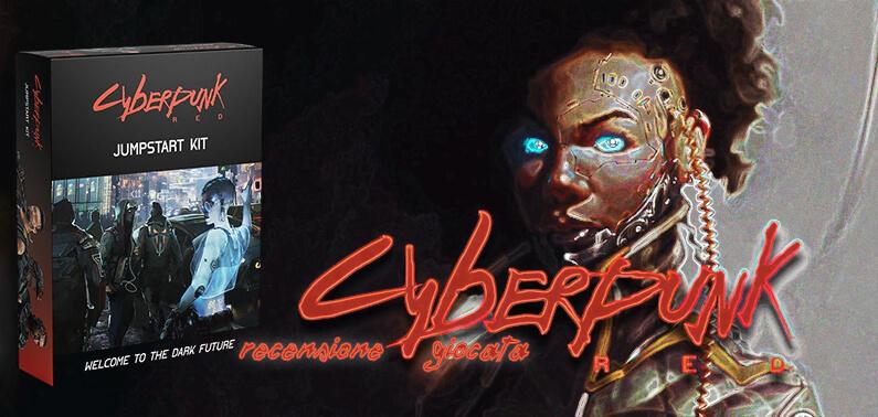 Cyberpunk Red Jumpstart Kit Cover