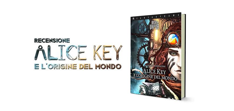 Age of Vapor Alice Key e l'Origine del Mondo Storie di Ruolo Libro Game