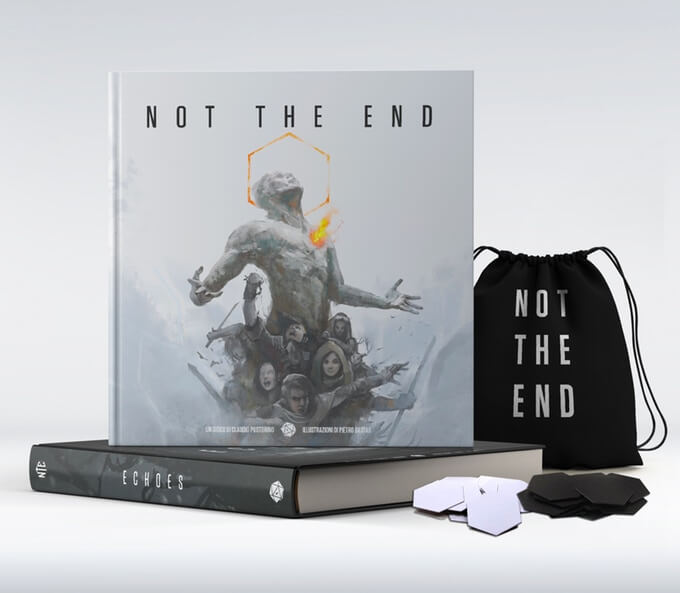 Not The End Recensione Storie di Ruolo Fumble GDR Token Sacchetto Manuale