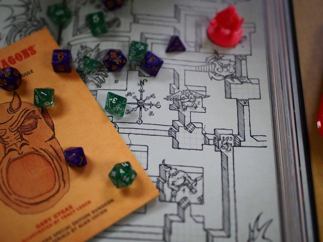 Giochi di Ruolo Homebrew Storie di Ruolo OSR D&D BX Dadi Mappa