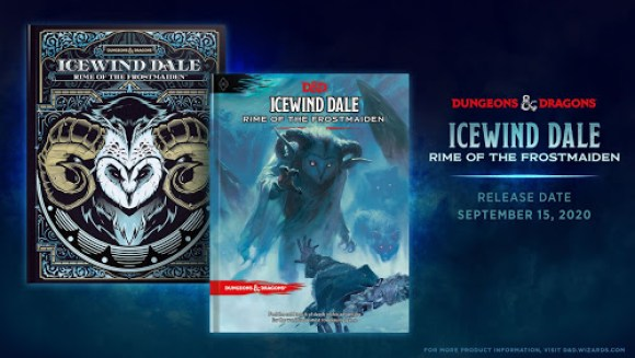 Dungeons & Dragons Origini Storie di Ruolo 5a Edizione Icewind Dale Rime of the Frostmaiden