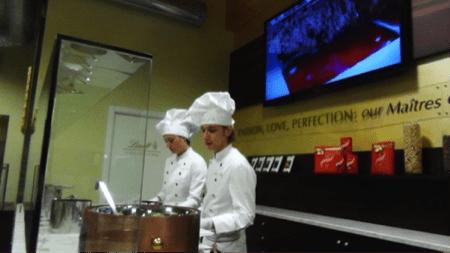 come si fa cioccolato lindt 2