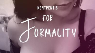 For Formality