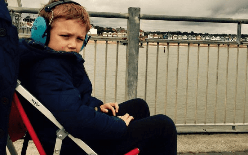 Why it's ok for my 8-year-old to still use a pram