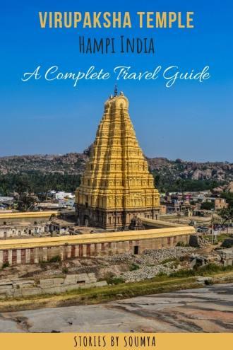 Virupaksha Temple of Hampi | Stories by Soumya #hampi #virupakshatemple #karnataka #incredibleindia