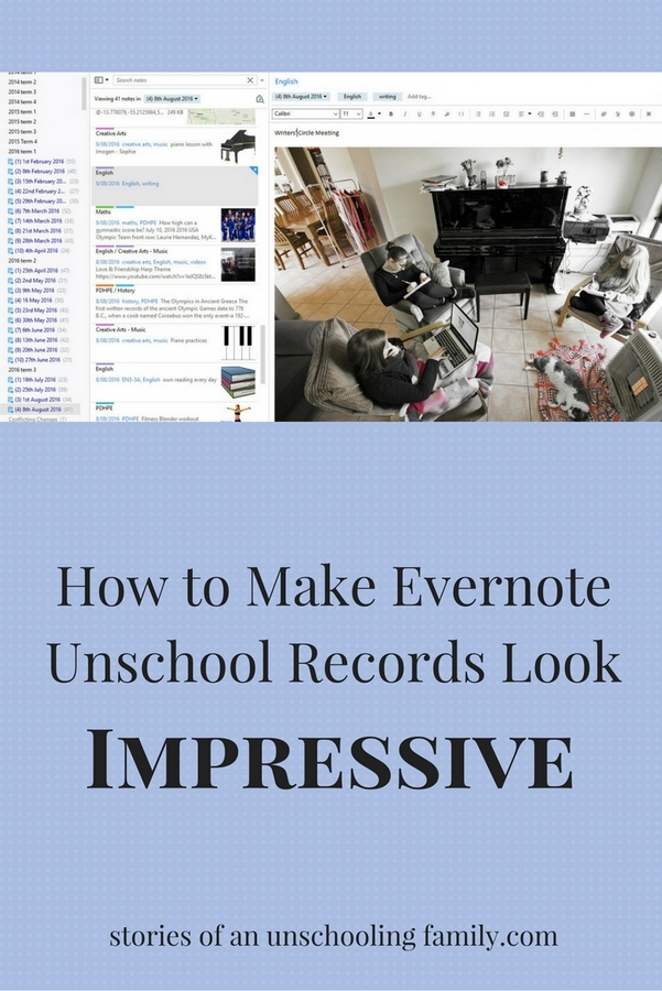 HowtoMakeEvernoteUnschoolRecordsLook1-001-1