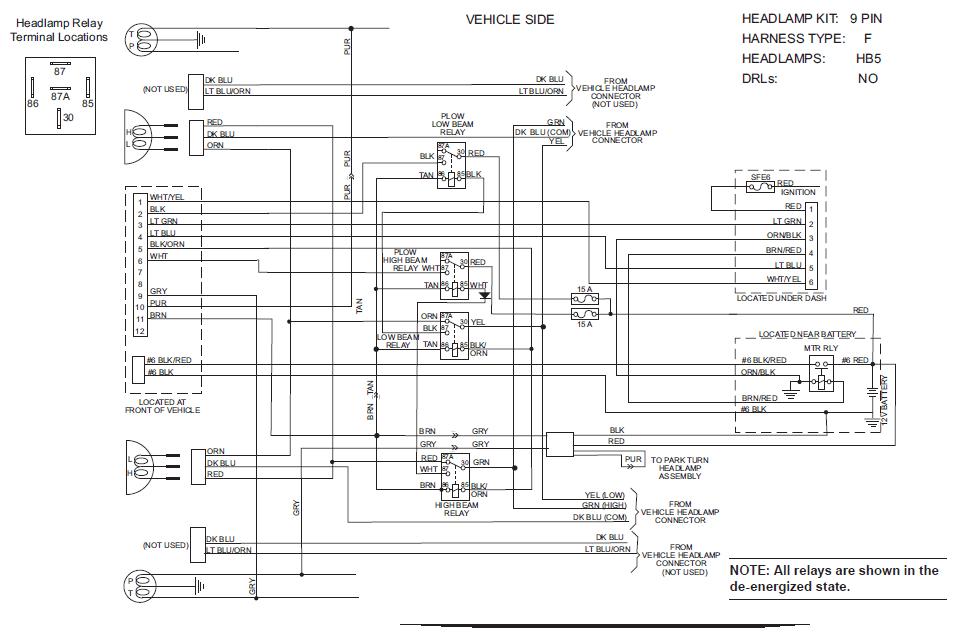 2011 F250 Wiring Diagram Plow Detailed Schematics Diagram