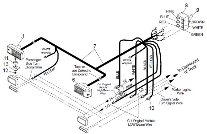 wiring diagram for plow lights  jaguar wiring schematics