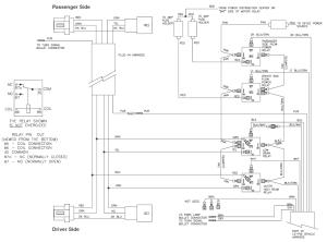 63400 Western Unimount HB1 Headlight Harness Kit Dodge