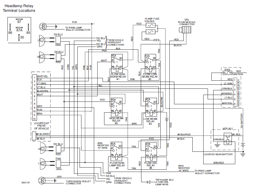 Wiring Diagram For Minute Mount 2 Fisher Plow