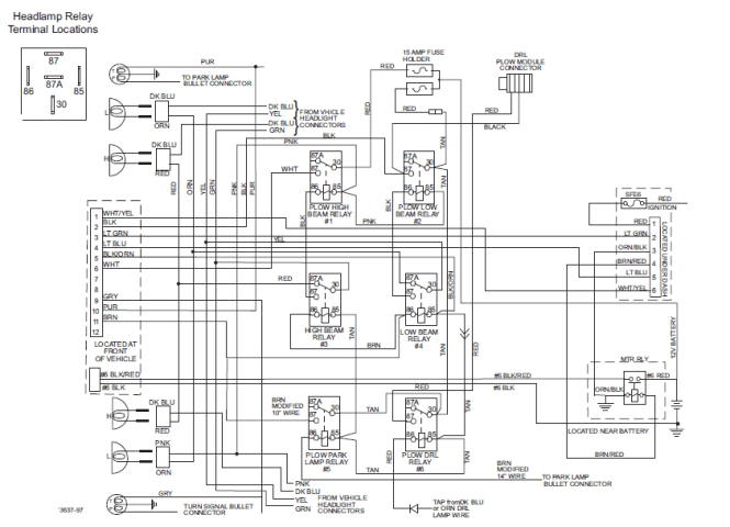 Wiring Diagram For Minute Mount 2 Fisher Plow Powerking