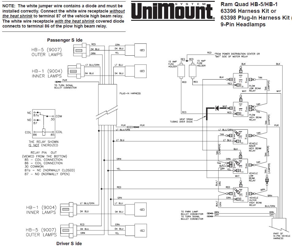 western plow light relay wiring plow free printable wiring diagrams