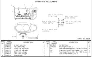 Hiniker plow light Diagrams  Service Manual Library