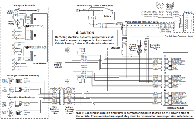 curtis plow wiring diagram on direction  1967 mustang fuse