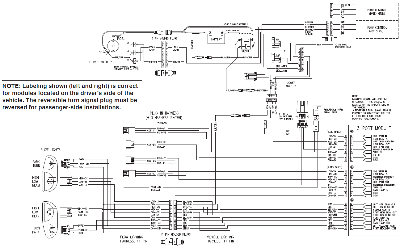 Wiring Diagram To Truck Together With Fisher Plow Light Wiring Diagram