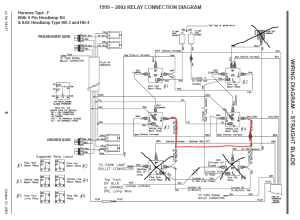 63392 Western wiring diagram with No DRL  Service Manual