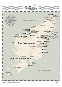 Map - Lewis and Harris