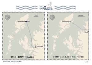 Iolaire - Ship Routes 1919 and 2019