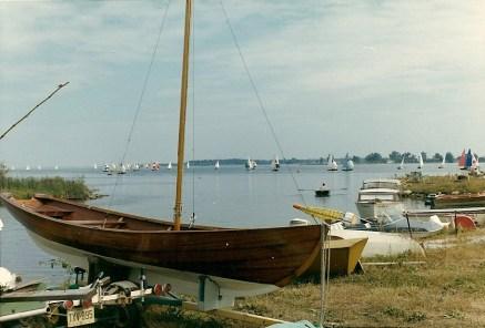Bill Borlands First Boat