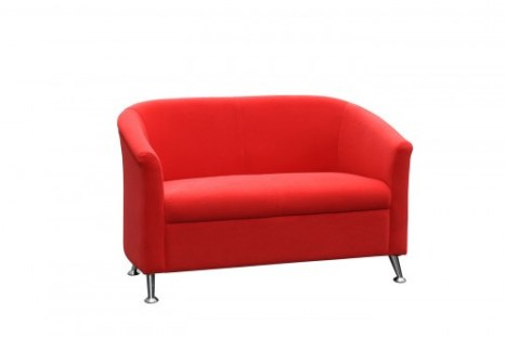 Tub Chair Red Double