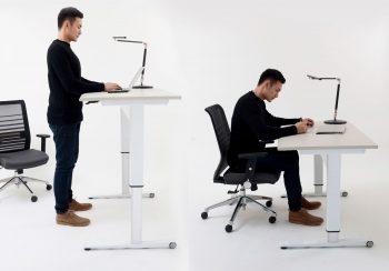 pneumatic desk