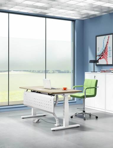 electric desk frame
