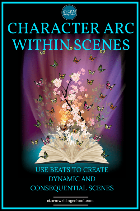 Great insights on scene craft here! Learn to use beats within scenes to move characters. :: stormwritingschool.com