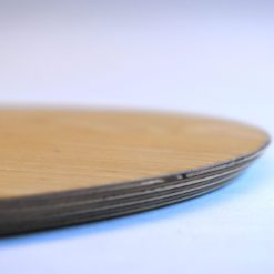 wooden pizza serving board