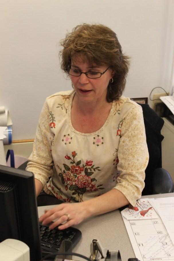 Deborah Gacek, office administrator
