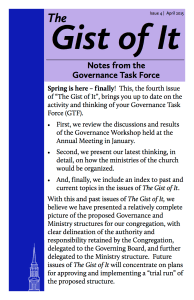 The Gist of It - Issue 4 - FINAL