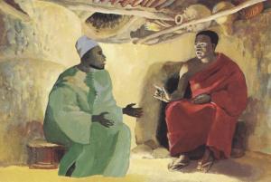 """""""Nicodemus"""", JESUS MAFA, 1973"""