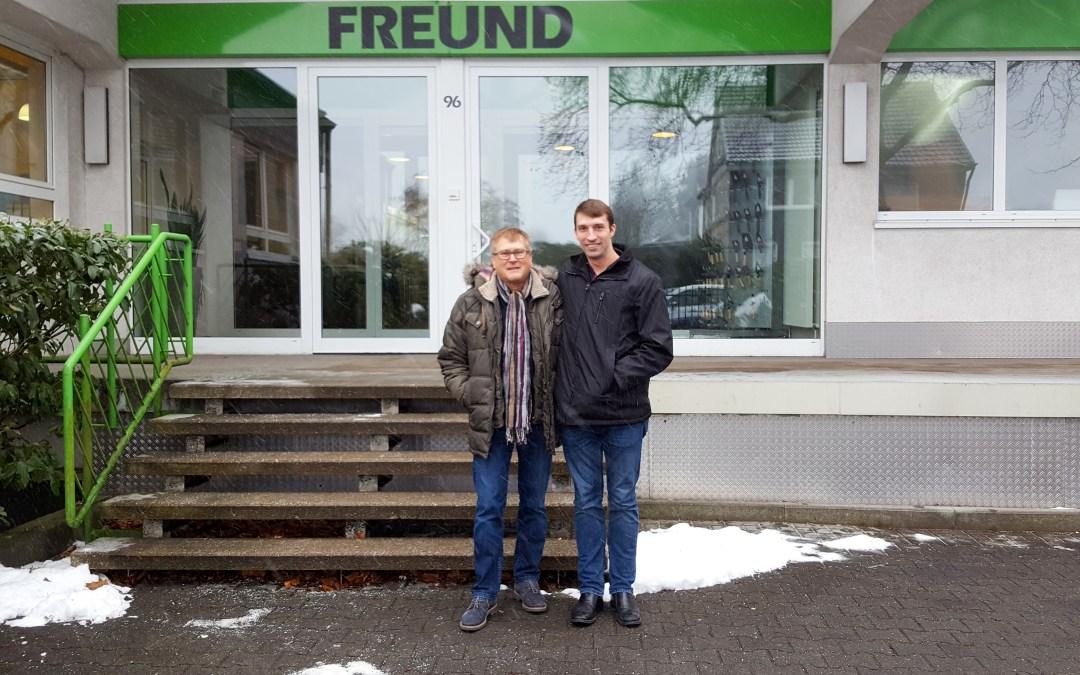 My Visit to PF Freund