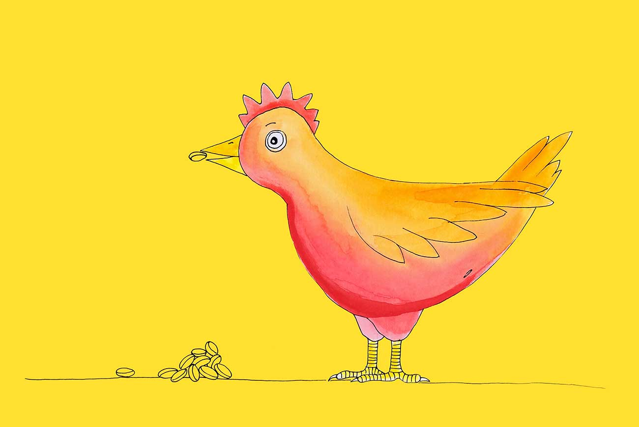 The Tale Of The Little Red Hen